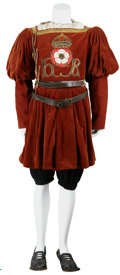 Movie/TV Memorabilia:Costumes, The Other Boleyn Girl Screen-Featured King's Guard Outfit.... (Total: 6 Items)