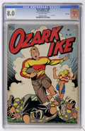 Golden Age (1938-1955):Miscellaneous, Four Color #180 Ozark Ike - File Copy (Dell, 1948) CGC VF 8.0 Off-white pages....