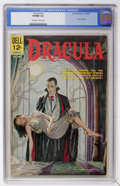 Silver Age (1956-1969):Horror, Movie Classics - Dracula (Dell, 1962) CGC VF/NM 9.0 Off-white towhite pages....