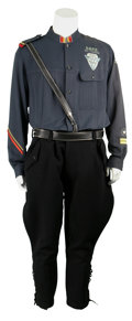 Movie/TV Memorabilia:Costumes, Demolition Man Screen-Featured Police Costume.... (Total: 3 Items)