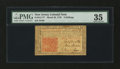 Colonial Notes:New Jersey, New Jersey March 25, 1776 3s PMG Choice Very Fine 35....