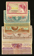 Military Payment Certificates:Series 692, MPC Group Lot Very Good or Better.... (Total: 18 notes)