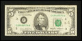 Error Notes:Ink Smears, Fr. 1978-C $5 1985 Federal Reserve Note. Very Fine.. ...