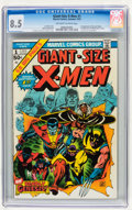 Bronze Age (1970-1979):Superhero, Giant-Size X-Men #1 (Marvel, 1975) CGC VF+ 8.5 Off-white to whitepages....