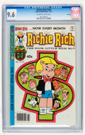 Bronze Age (1970-1979):Humor, Richie Rich #184 File Copy (Harvey, 1979) CGC NM+ 9.6 Off-white to white pages....