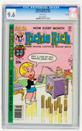 Modern Age (1980-Present):Humor, Richie Rich #194 File Copy (Harvey, 1980) CGC NM+ 9.6 Whitepages....