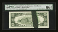 Error Notes:Ink Smears, Fr. 2024-A $10 1977A Federal Reserve Note. PMG Gem Uncirculated 66EPQ.. ...