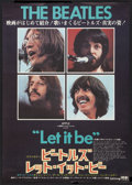 "Movie Posters:Rock and Roll, Let It Be (United Artists, 1970). Japanese B2 (20.25"" X 28.75"").Rock and Roll.. ..."