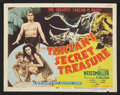 "Movie Posters:Adventure, Tarzan's Secret Treasure (MGM, R-1948). Title Lobby Card and LobbyCards (5) (11"" X 14""). Adventure.. ... (Total: 6 Items)"