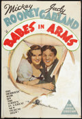 "Movie Posters:Musical, Strike Up the Band (MGM, 1940). Australian One Sheet (27"" X 39.5""). Musical.. ..."