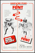 "Movie Posters:Adventure, Our Man Flint/In Like Flint Combo (20th Century Fox, R-1967). OneSheet (27"" X 41""). Adventure.. ..."