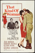 "Movie Posters:Romance, That Kind of Woman Lot (Paramount, 1959). One Sheets (2) (27"" X 41""). Romance.. ... (Total: 2 Items)"