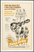 "Movie Posters:Sexploitation, Swedish Fly Girls Lot (Trans American, 1972). One Sheets (3) (27"" X41""). Sexploitation.. ... (Total: 3 Items)"