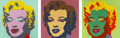 Prints:Contemporary, After ANDY WARHOL (American, 1928-1987). Marilyn Monroe(Portfolio of 10 prints). Screenprint on museum board. 36 x 36i... (Total: 10 Items)