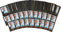 Autographs:Sports Cards, 1999 Ernie Banks Signed Baseball Card Hoard of 165....
