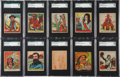 Non-Sport Cards:Sets, 1930's R184, R131 and R128 Native American High-Grade SGCCollection (38). ...