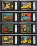 """Non-Sport Cards:Lots, 1936 R60 """"G-Men & Heroes of the Law"""" SGC-Graded Collection(31). ..."""