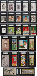 Baseball Cards:Lots, 20th Century Baseball SGC-Graded Grab Bag Collection (138) - With Many Stars and HoFers! ...