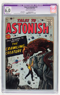 Silver Age (1956-1969):Mystery, Tales to Astonish #22 (Marvel, 1961) CGC Apparent FN 6.0 Slight (P)Cream to off-white pages....