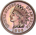 Proof Indian Cents, 1896 Indian Cent PR65 Brown NGC....