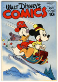 Golden Age (1938-1955):Cartoon Character, Walt Disney's Comics and Stories #41 (Dell, 1944) Condition: VF-....