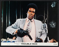 "Trouble Man (20th Century Fox, 1972). Lobby Card Set of 8 (11"" X 14""). Blaxploitation. ... (Total: 8 Items)"