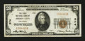 National Bank Notes:New Jersey, Jersey City, NJ - $20 1929 Ty. 1 The First NB Ch. # 374. ...