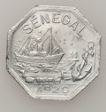 Senegal, Senegal: French Colony 50 Centimes 1920,...