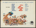 """Movie Posters:Comedy, It's a Mad, Mad, Mad, Mad World (United Artists, 1963). Half Sheet(22"""" X 28""""). Comedy.. ..."""