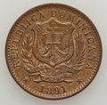 Dominican Republic, Dominican Republic: Republic 10 Centesimos 1891A,...