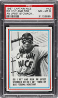 Non-Sport Cards:Singles (Post-1950), 1967 Topps Captain Nice #12 PSA NM-MT 8....
