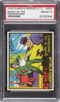 "Non-Sport Cards:Singles (Pre-1950), 1936 R60 ""G-Men & Heroes of The Law"" #253 PSA NM-MT 8. ..."