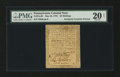 Colonial Notes:Pennsylvania, Pennsylvania May 20, 1758 20s PMG Very Fine 20 Net....