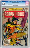 Silver Age (1956-1969):Adventure, Robin Hood Tales #9 (DC, 1957) CGC FN/VF 7.0 Off-white to white pages....