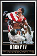"""Movie Posters:Sports, Rocky IV (MGM/UA, 1985). One Sheet (27"""" X 41"""") Advance and Lobby Card Set of 8 (11"""" X 14""""). Sports.. ... (Total: 9 Items)"""