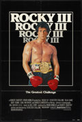 """Movie Posters:Sports, Rocky III (United Artists, 1982). One Sheet (27"""" X 41"""") and Lobby Card Set of 8 (11"""" X 14""""). Sports.. ... (Total: 9 Items)"""