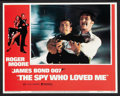 "Movie Posters:James Bond, The Spy Who Loved Me (United Artists, 1977). Lobby Card Set of 8(11"" X 14""). James Bond.. ... (Total: 8 Items)"