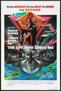 """Movie Posters:James Bond, The Spy Who Loved Me (United Artists, 1977). One Sheet (27"""" X 41"""") and Program (Multiple Pages). James Bond.. ..."""