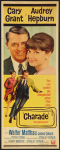 """Movie Posters:Mystery, Charade (Universal, 1963). Insert (14"""" X 36""""). Mystery.. ..."""