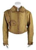 Movie/TV Memorabilia:Costumes, Spacehunter: Adventures in the Forbidden Zone - ErnieHudson's Screen-Worn Jacket....