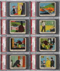 "Non-Sport Cards:Sets, 1930's R41 ""Dick Tracy"" Partial Set (94/144) - With Vintage HighNumbers! ..."