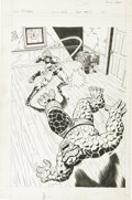 Original Comic Art:Splash Pages, Dave Hunt - Titans #26, Splash page 26 Original Art (Marvel,1976)....