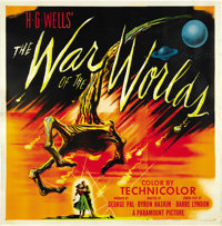 """The War of the Worlds (Paramount, 1953). Six Sheet (81"""" X 81"""")"""