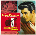 "Movie Posters:Elvis Presley, Jailhouse Rock (MGM, 1957). Six Sheet (81"" X 81""). ..."