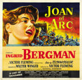 "Movie Posters:Drama, Joan of Arc (RKO, 1948). Six Sheet (81"" X 81""). ..."