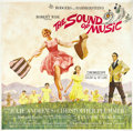 "Movie Posters:Musical, The Sound of Music (20th Century Fox, 1965). Six Sheet (81"" X 81"")...."