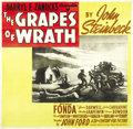 "Movie Posters:Drama, The Grapes of Wrath (20th Century Fox, 1940). Six Sheet (81"" X81""). ..."