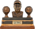 Baseball Collectibles:Others, 1948 Babe Ruth Figural Desk Clock....