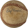 Autographs:Baseballs, 1940's Chief Bender Signed Baseball....