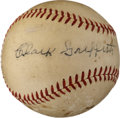 Autographs:Baseballs, 1940's Clark Griffith Signed Baseball....